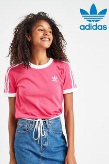 adidas Originals 3 Stripe Cali T-Shirt