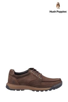 Hush Puppies Brown Dominic Lace Shoes