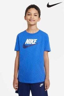 Nike Blue Futura T-Shirt