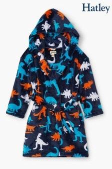 Hatley Silhouette Dinos Fleece Robe