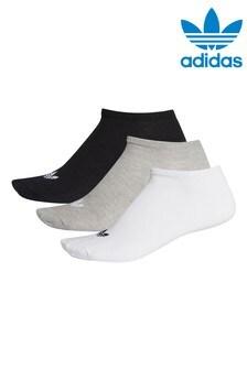 adidas Originals Adults Trefoil Trainer Socks 3 Pack