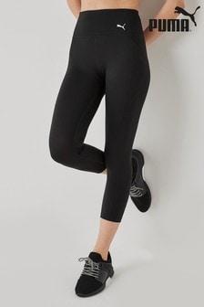 Puma® Black Train Favourite Forever High Waisted 3/4 Leggings