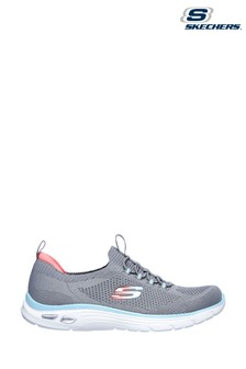 Skechers Grey Empire D'Lux Paradise Sky Trainers