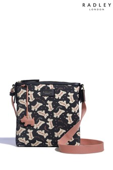 Radley London Dotty Dog Small Zip Top Crossbody Bag