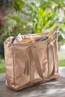 Rose Gold Picnic Tote Bag