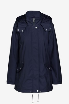 Navy Rubber Jacket