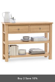 Oak Effect Malvern Storage Console