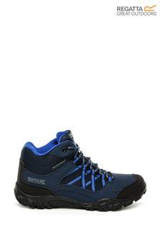Regatta Blue Edgepoint Mid Junior Walking Boots