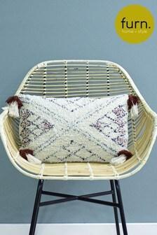Atlas Tassel Cushion by Furn