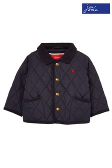 Joules Blue Milford Quilted Jacket