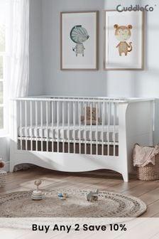 White Cuddleco Clara Cot Bed