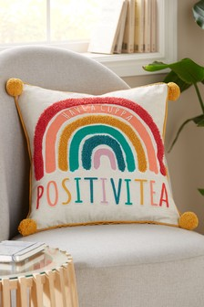 Positivitea Rainbow Cushion