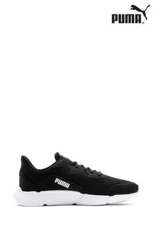 Puma Black Interflex Trainers