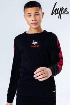 Hype. Black Kids L/S T-Shirt -  Lego® Ninjago Dragon