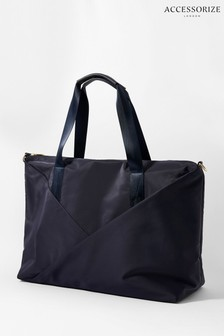 Accessorize Blue Robyn Slouchy Weekend Bag