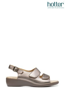 Hotter Easy II Touch Fastening/Buckle Open Sandals