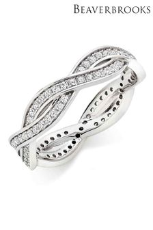 Beaverbrooks Cubic Zirconia Eternity Ring
