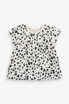 Monochrome Cotton T-Shirt (3mths-7yrs)