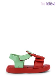Mini Melissa Red Watermelon Sandals