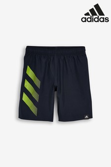 adidas Bold 3 Stripe Swim Shorts