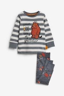 Grey Stripe Gruffalo® Snuggle Pyjamas (12mths-9yrs)