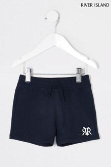 River Island Navy Shorts