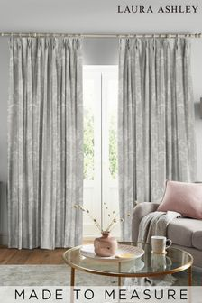 Laura Ashley Josette Steel Made to Measure Curtains