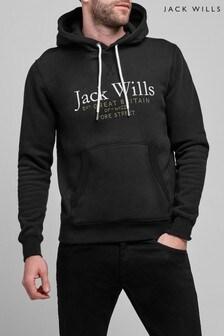 Jack Wills Black Batsford Hoody