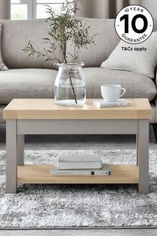 Malvern Dove Grey Side to Coffee Table