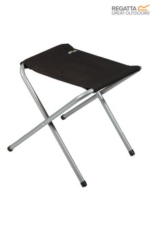 Regatta Black Marcos Folding Stool