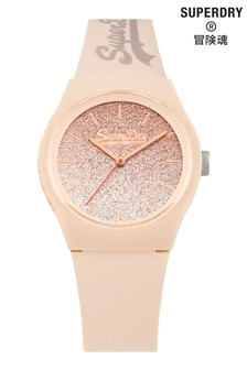 Superdry Urban Ombre Glitter Dial Watch