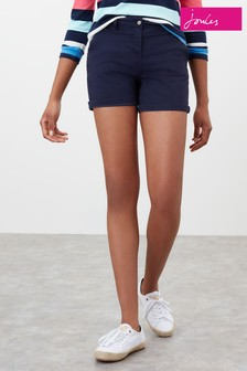 Joules Blue Mid Thigh Length Chino Shorts