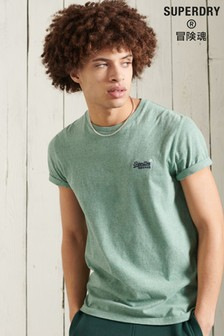Superdry Organic Cotton Vintage Embroidery T-Shirt