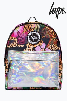 Hype. Leopard Holographic Jungle Backpack
