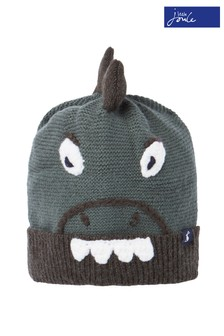 Joules Green Chummy Hat Character Hat