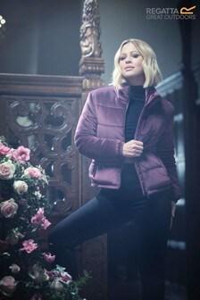 Regatta Kimberley Walsh Edit Purple Elbury Padded Jacket