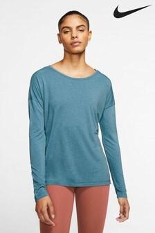 Nike Dri-FIT Yoga Long Sleeve Training T-Shirt
