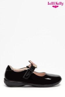 Lelli Kelly Interchangeable Black Patent Unicorn Shoes