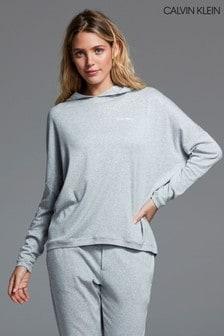 Calvin Klein Grey Form Lounge Hoody