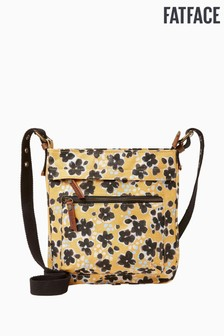 FatFace Inky Floral Mini Canvas Bag