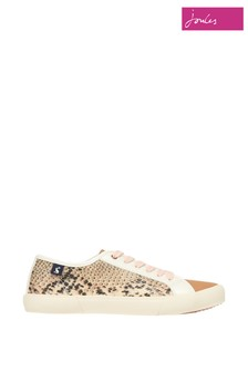 Joules Coast Pump Lace-Up Trainers