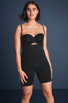 Black Firm Control Wear Your Own Bra Body