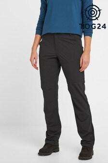 Tog 24 Womens Black Denver Tech Short Walking Trousers