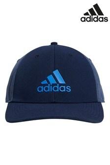 adidas Golf Navy Badge Of Sport Stretch Cap