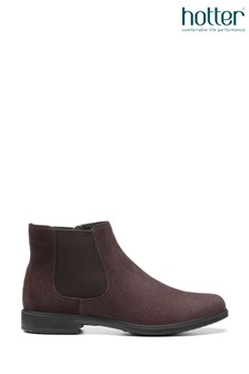 Hotter Tenby Zip Fastening Ankle Boots