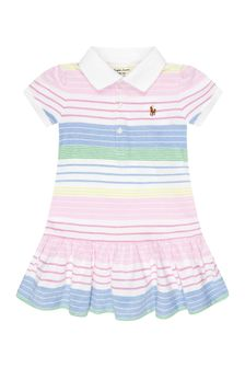 Ralph Lauren Kids Baby Girls Multi Cotton Dress