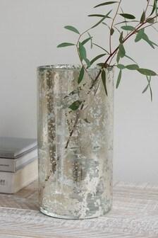 Mercury Effect Glass Vase
