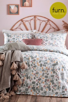 Terrazzo Duvet Cover and Pillowcase Set