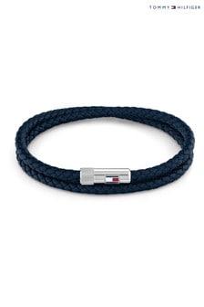 Tommy Hilfiger Blue Wrap Bracelet