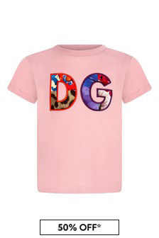 Baby Girls Lilac Cotton T-Shirt